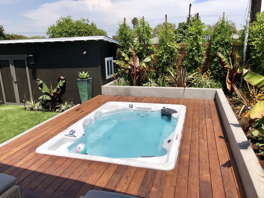 in-ground swim spa